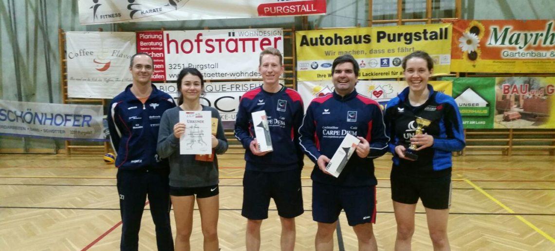 Zweiter Platz beim Quattro-Mixed in Purgstall!!!